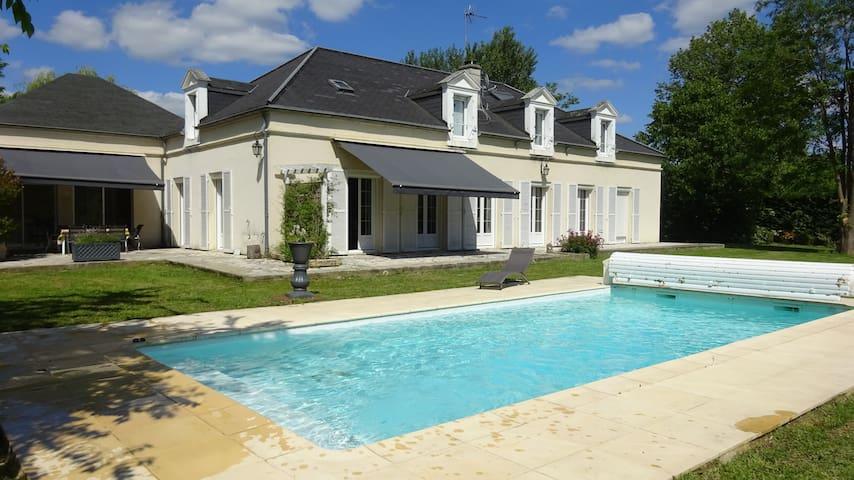 Grande et belle villa sur 2500m² jusqu'à 10 pers - Pin-Balma - Villa