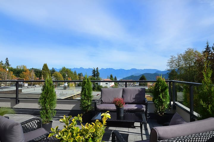Modern 2BD in Upper Gibsons - Gibsons - Apartment