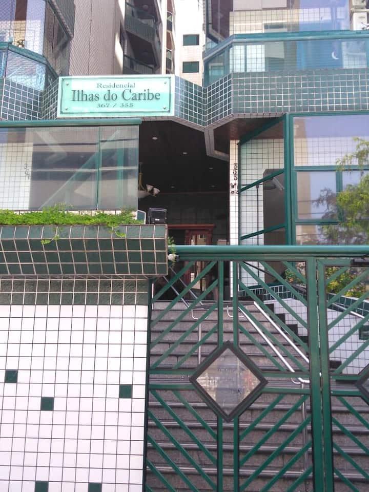 Apartamento  Ilhas Do Caribe hospedagem Familiar