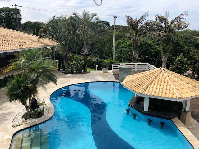 #Casa a 30km de SP p/ LAZER, FOTOS ou REUNIÕES