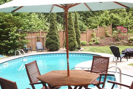 Dog Friendly House with Pool near Saratoga Lake - Saratoga Springs - Ház