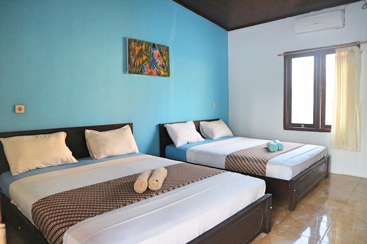 GERALD & SYIFA FAMILY, FAMILY ROOM 4 PERSONS W. AC