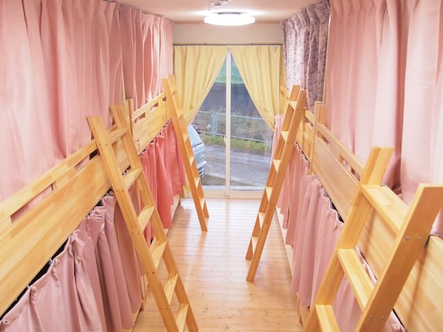 Female Dorm 女性専用 Guesthouse太子堂駅から徒歩10分★仙台駅まで車で15分