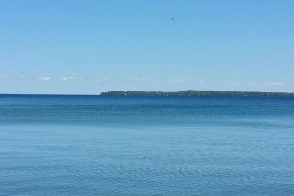 at the Lake front