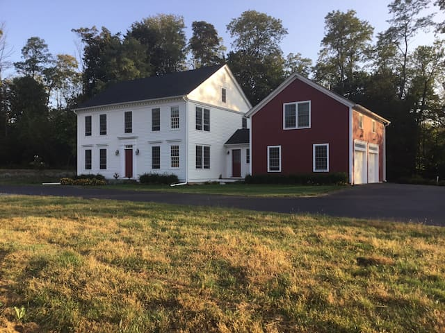 Classic New England Farmhouse & Lavender Farm