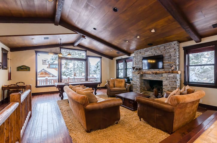 Mammoth ski-in / ski-out 5-bedroom home - Mammoth Lakes - Dům