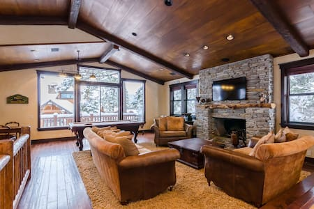 Mammoth ski-in / ski-out 5-bedroom home - Mammoth Lakes