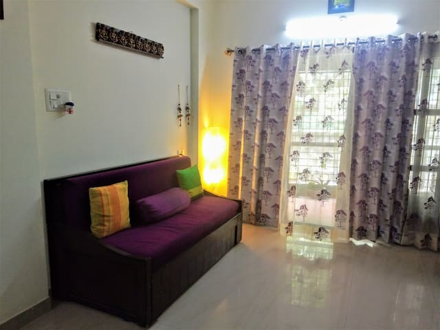 Lovely 2 BHK in Whitefield, 1 km from ITPL/EPIP