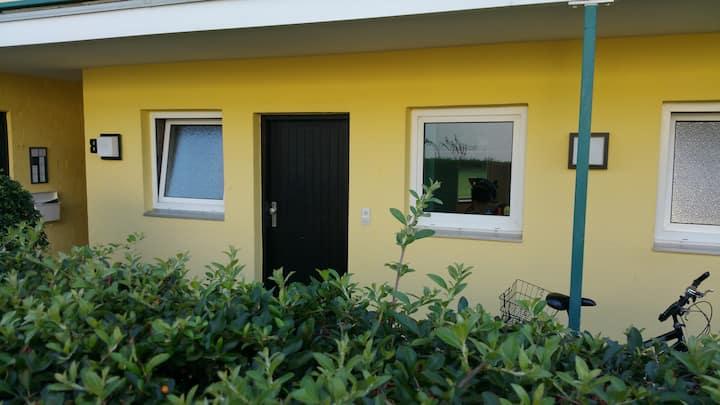 Messe Apartment/Neubau im EG mit Garten