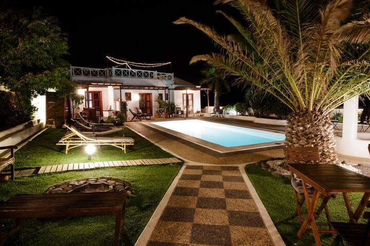 House & pool