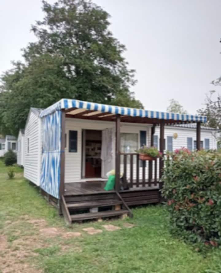 Mobil home sur camping avec piscine a Pornichet