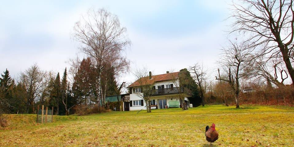 Entspannung im Grünen: Ferienwohnung in Kursberg - Alfeld - Leilighet