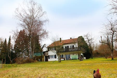 Entspannung im Grünen: Ferienwohnung in Kursberg - Apartment