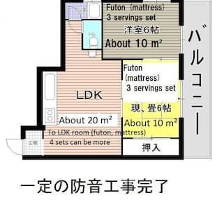 マンスリーウイークリー6名~8名、駐車無料、難波45分、御幸辻駅歩7分、高野山へ交通至便、 - Hashimoto