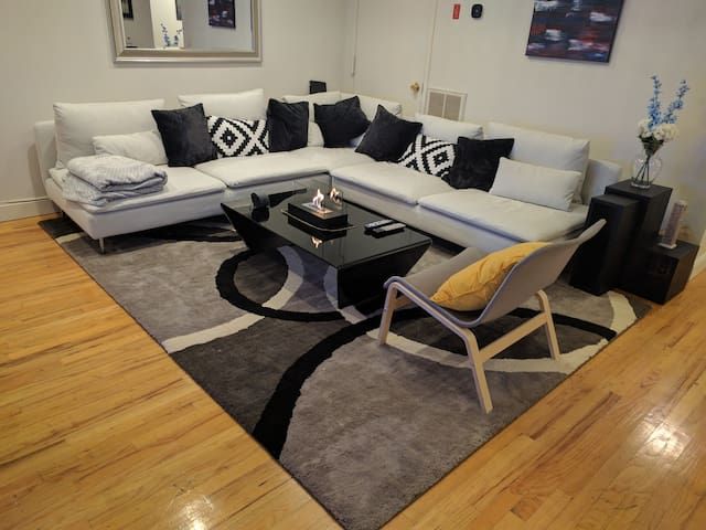 Spacious Entire Hoboken Apt w/ Easy commute to NYC - Hoboken - Huoneisto