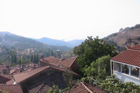 Mountaintop House in Skalohori - Mitilini