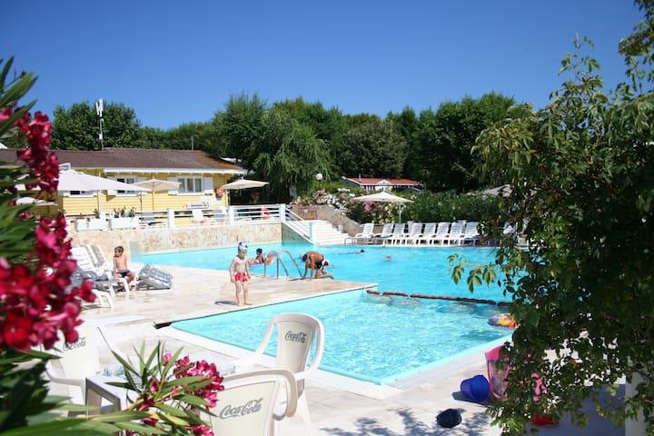 Monolocale in villaggio con piscina e parcheggio - Sirolo - Appartement