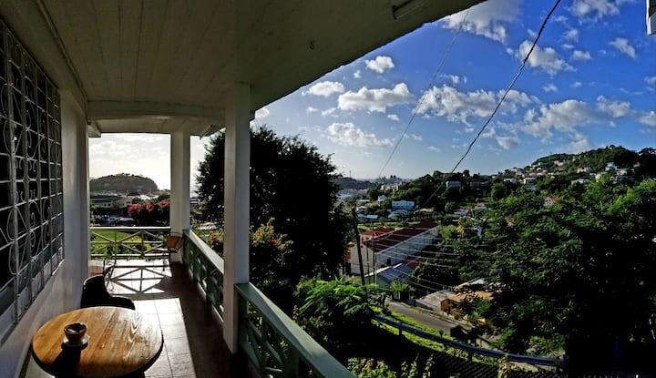1 bedroomm apt overlooking St. George's