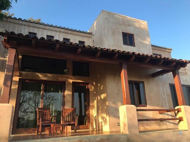 Private and quite modern villa in resort
