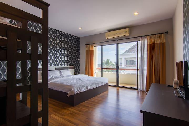 ห้องพัก 2 ห้องนอน  2  ห้องน้ำ Jedyod Greenery Hill - Chiang Mai - Pis
