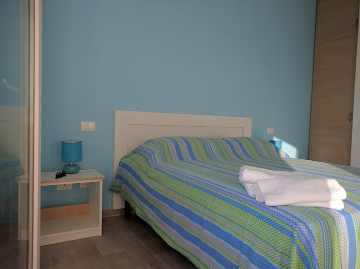 Double Room 500 meters from Center and Sand Beach
