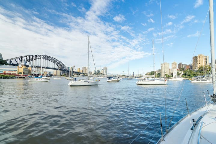 Stay a Magical Night on Sydney Harbour - Lavender Bay - Boot