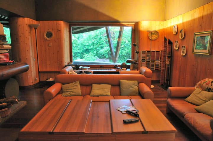 Villa incantevole immersa nel verde -Riofreddo-