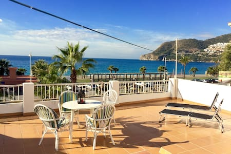 Wifi front the sea 2 bedroom - La Herradura - Appartement