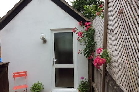 Self-contained annexe for 2 in rural village.