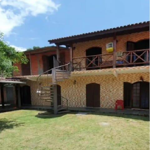 Chalé no Centro de Ilhabela