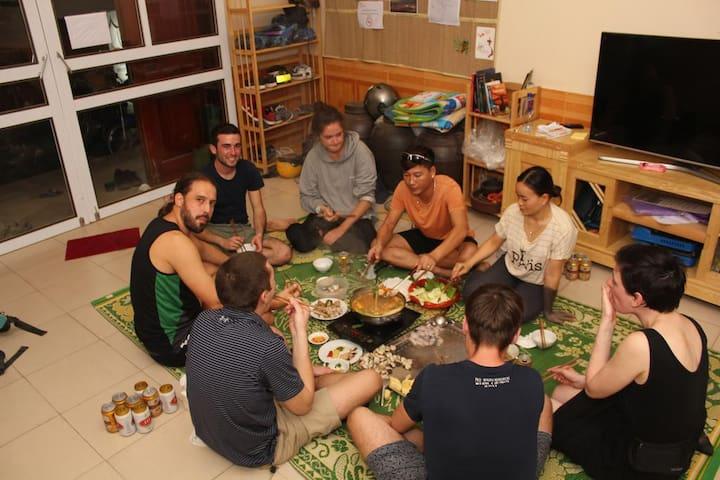 QT Hostel Ha Giang ~ Breakfast & optional Dinner