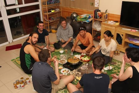 QT Hostel Hà Giang ~ Breakfast and optional dinner