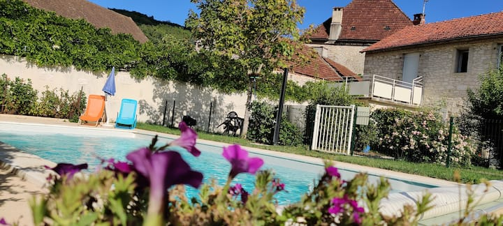 4-person apartment 15 min from Sarlat