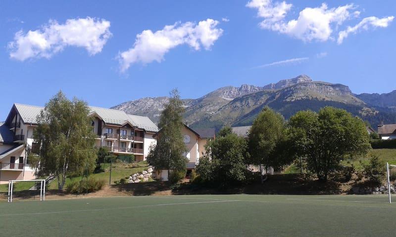 Appartement familial de montagne