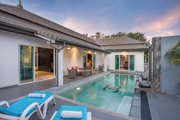 三卧室泳池别墅,彰显生活艺术