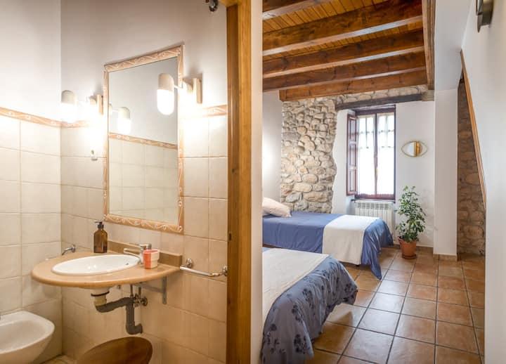 Triple room-Modern-Private Bathroom-Garden View