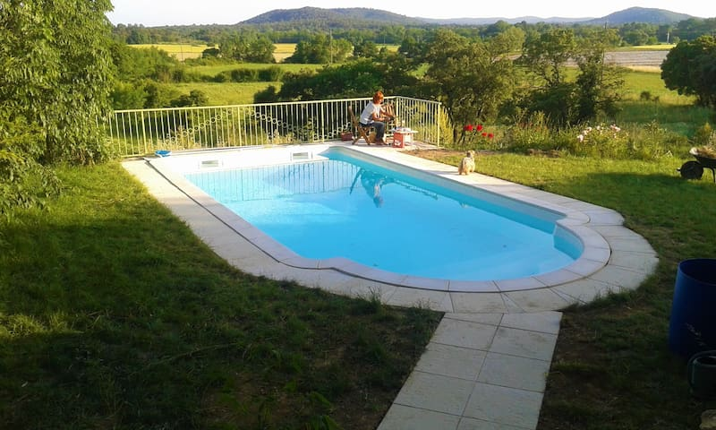 House w/ private pool near Nîmes - Orthoux-Sérignac-Quilhan - Huis