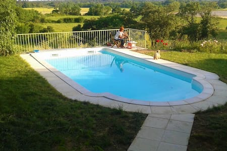 House w/ private pool near Nîmes - Orthoux-Sérignac-Quilhan - 独立屋