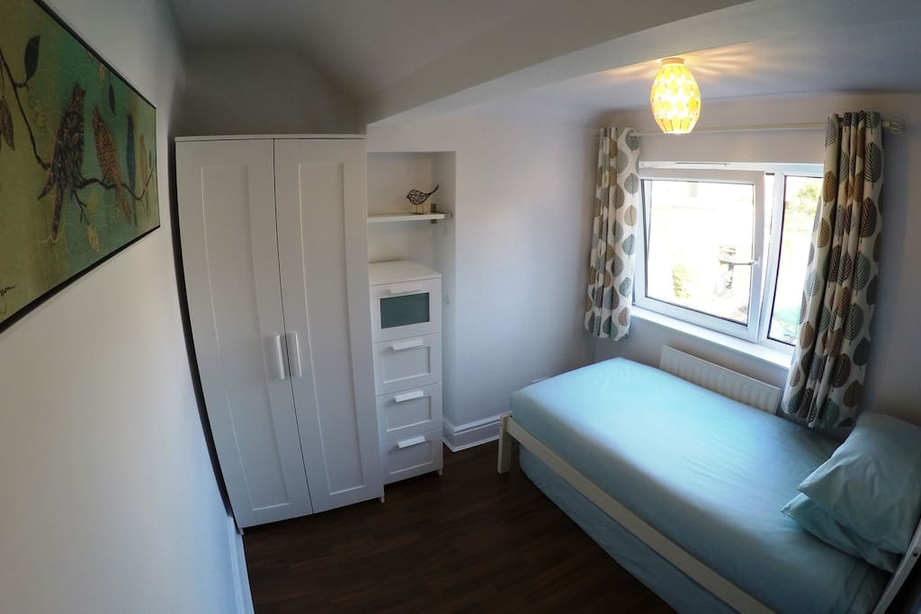 The single room (with pull-out mattress)