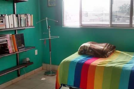 Cuarto en apartamento nuevo cerca del metro L. 12 - Mexiko-Stadt - Wohnung