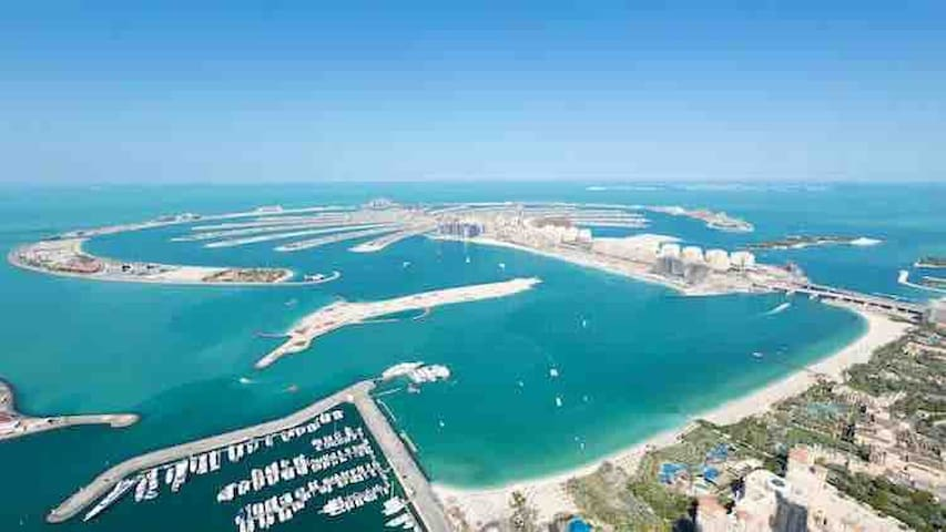 65th FLOOR FULL PALM VIEW 8 GUEST 3 BEDROOM MARINA