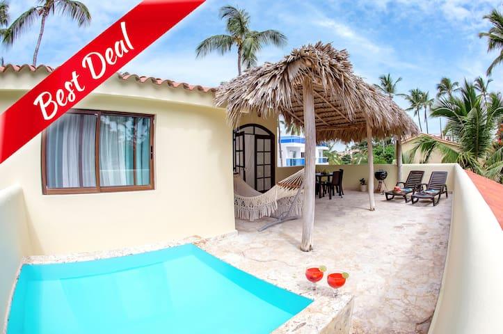 Beach Villa 11guests Jacuzzi - Punta Cana - Villa