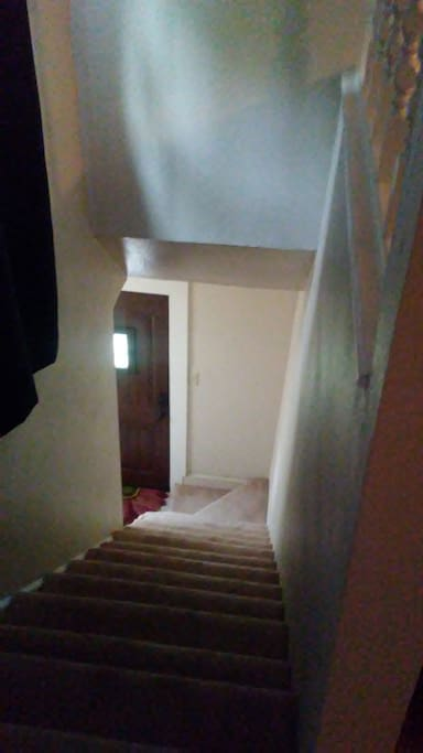 entry way stairwell