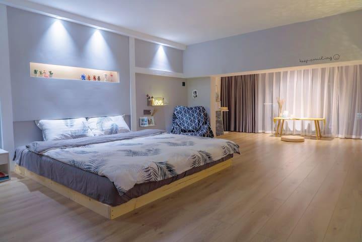 30平超大卧室空间 肆意横着走