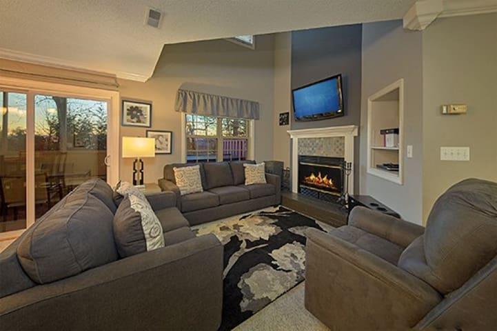 Living Room with Sleeper Sofa