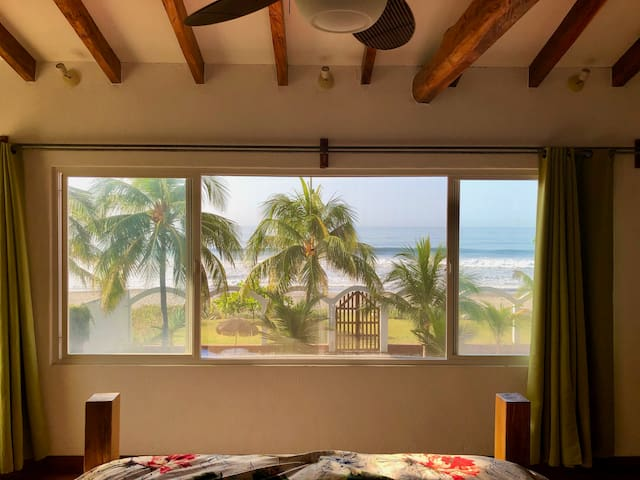million dollar view from the master bedroom
