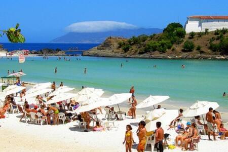 2 Quartos na Praia do Forte - Cabo Frio - Cabo Frio