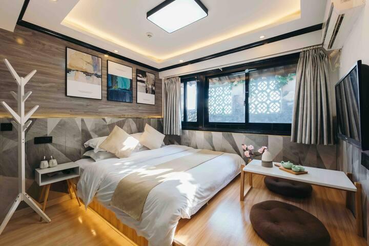 西塘古镇景区内舒适大床房,近酒吧街(可代买优惠景区门票)