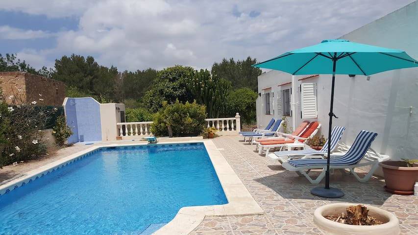 Villa Can Sol Ibiza  SWIMMING POOL  GARDEN  NATURE - Sant Rafel - Vila