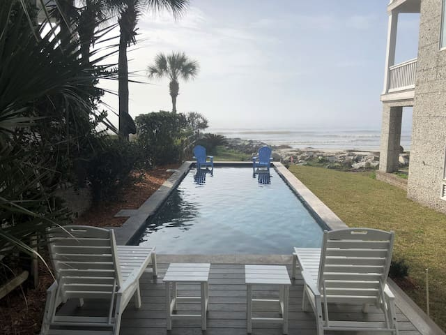 Ocean Front pool completed Jan 2019